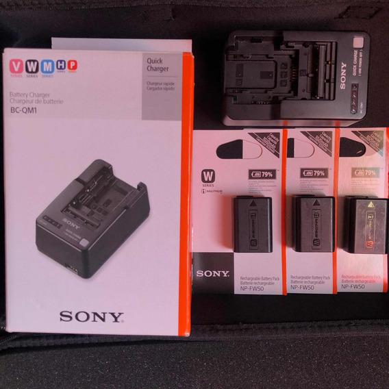 Carregador Sony Bc-qm1