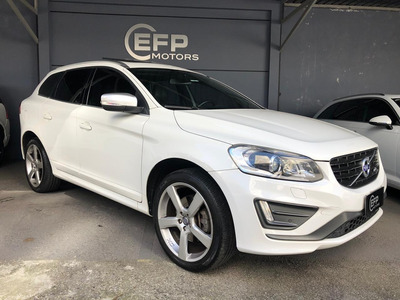 Volvo Xc60 2.0 T5 R Design Turbo 2014 Automática Top C/ Teto