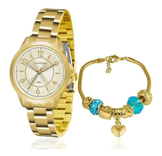 Relógio Feminino Lince Lrg4504l Ku49 Barato Garantia