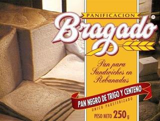 Pan De Miga Para Sandwiches Panificación Bragado