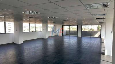 Ref 9675 - Excelente Sala Comercial Para Locação No Bairro Jardim Caravelas, Chacara Santo Antonio Com 18 Vagas, 632 M - 9675