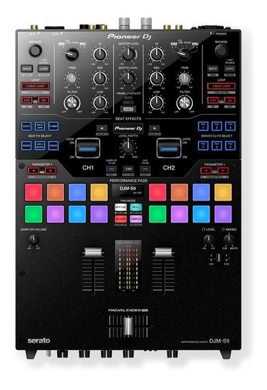Mixer Pioneer Djm-s9 De 2 Canais Pronta Entrega