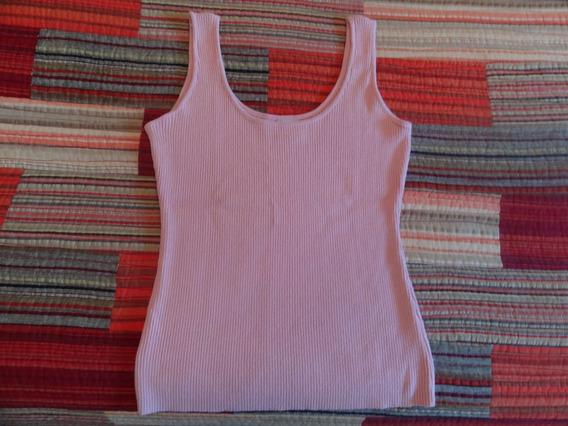 Musculosa De Hilo Color Rosa T 2