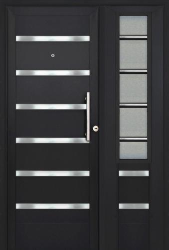 agujero de la puerta p/ío con solapa 35-50mm 200 de plata 77921