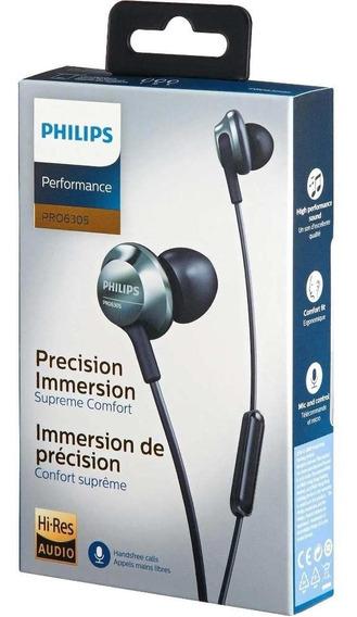 Fone De Ouvido Philips Intra Auricular Grave Potente Plug P2