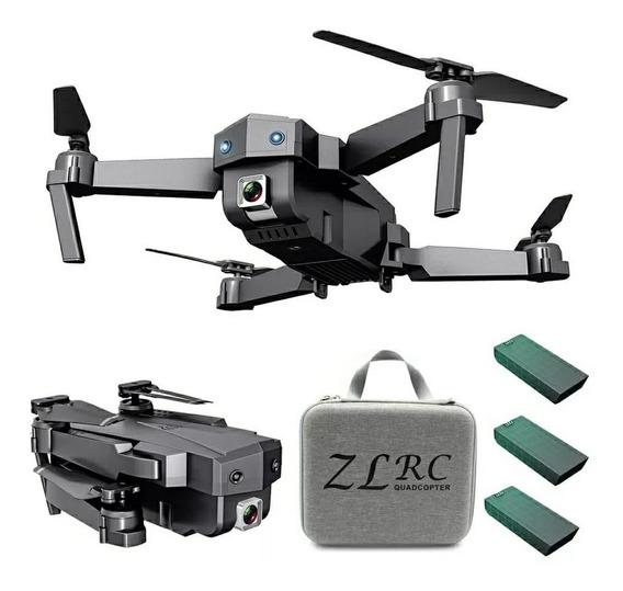 Drone Sg107 15min De Vôo Wifi Fpv Cam 4k + 2 Baterias Extra