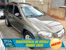 Fiat Palio Weekend Adventure Locker Dualogic 1.8 Cinza 2012