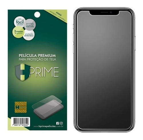 Imagem 1 de 4 de Película Hprime Fosca Siliconada iPhone 12 Pro Max 6.7 Pol