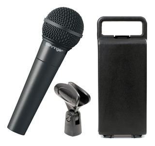 Micrófono Dinámico Vocal Behringer Xm8500 Envio Inmediato +