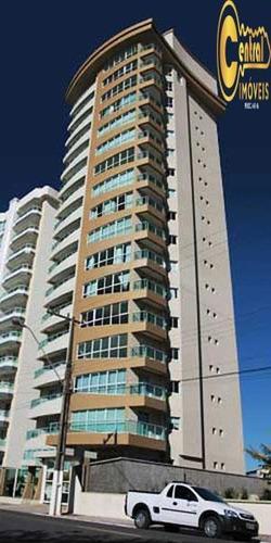 Apartamento  Com 4 Dormitório(s) Localizado(a) No Bairro Centro Em Balneário Piçarras / Balneário Piçarras  - 217