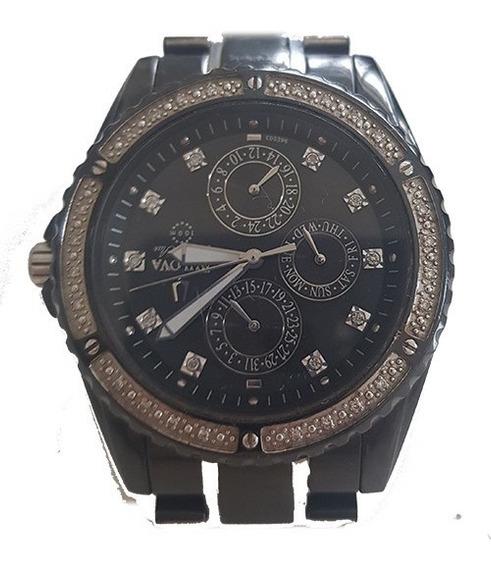 Lindo Relógio De Pulso Bulova Pulseira Cerâmica - Original