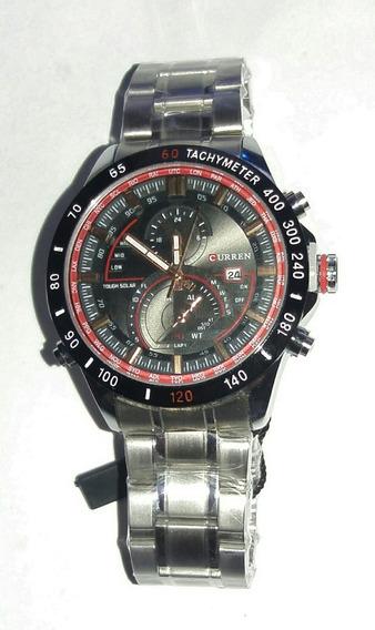 Relógio Importado Aço Inoxidavel Curren8149 Aço