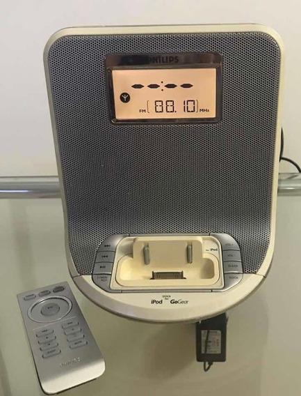 Rádio Relógio Philips Aj300d/12