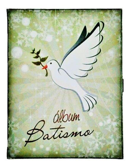 Álbum Batismo 15x21 C/estojo (0113) 100 Fotos Universal