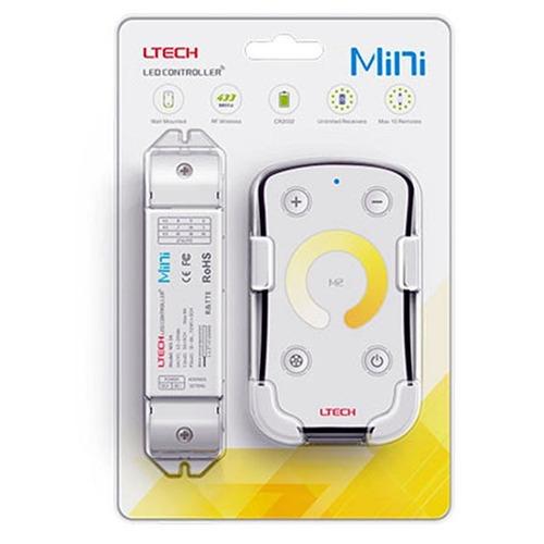 Imagen 1 de 4 de Controlador Dimmer Táctil De Cinta De Leds Mini M2+m3a