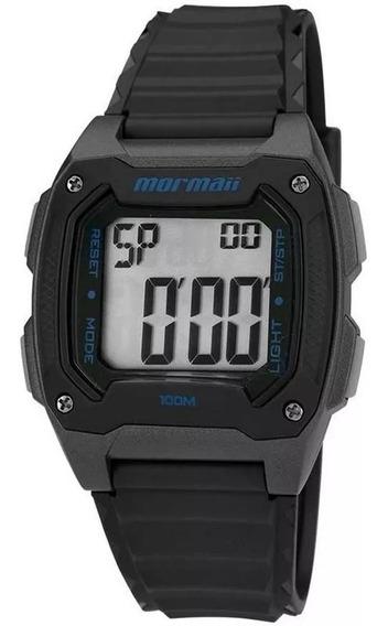 Relógio Mormaii Action Masculino Preto Mo11516a/8a