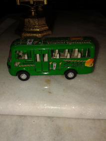 Ônibus De Ferro 14x4,5x6 Cm