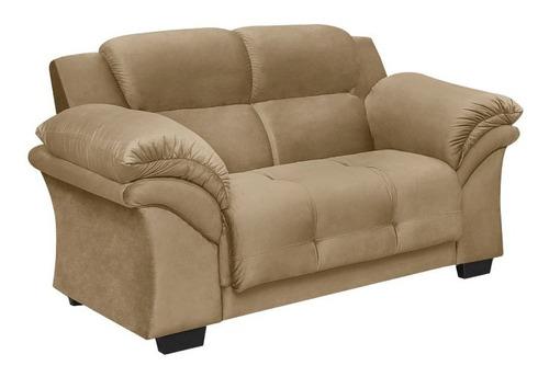 Sillon 2 Cuerpos Sofa Living Beige Oxford - Muebles Express