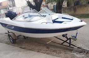 Lanchas G 490 Open Full Casco 160 Sin Motor Nautica Gabott