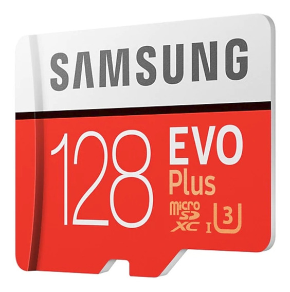 Samsung Evo Plus Sdxc C10 U3 4k 100mb/s 667x 128gb Original