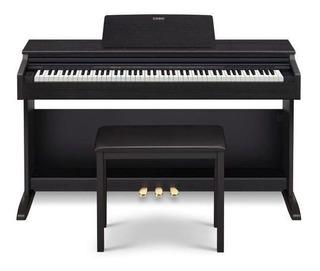 Piano Casio Celviano Ap270 88 Teclas Digital Preto Com Fonte