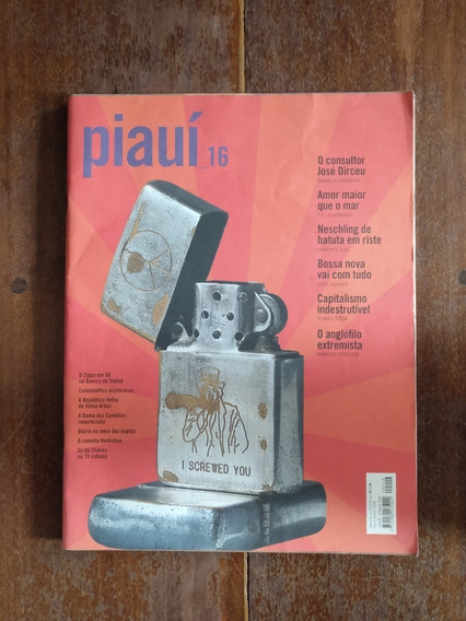 Revista Piauí - Edição 16 - Para Colecionadores