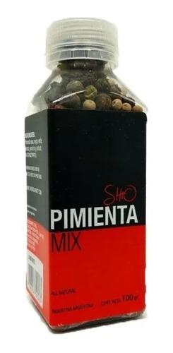 Imagen 1 de 3 de Mix De Pimientas Kosher Apto Vegano Shio Gourmet Titanweb