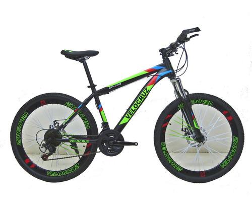 Imagen 1 de 8 de Bicicleta 1 Amortiguador Shimano 21v  Frenos De Disco