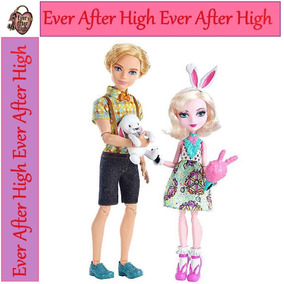 Ever After High Bunny Blanc E Alistair Carnival Date Cod. 06
