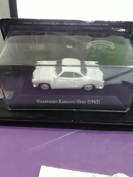 Carrinho De Brinquedo. Miniatura. Karmann-ghia 1962. 9cm.