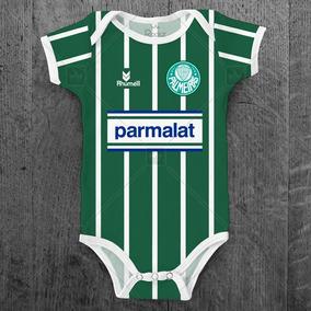 Body Palmeiras 1994 Parmalat Personalizado C/ Nome Do Bebê