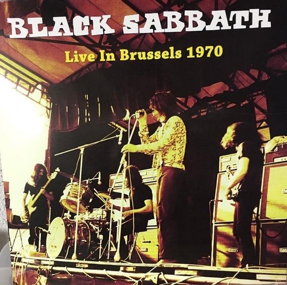 Black Sabbath - Live In Brussels Lp 1970