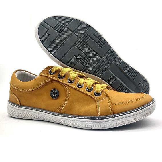 Sapato Sapatênis Masculino Casual Couro Bmbrasil 759/12