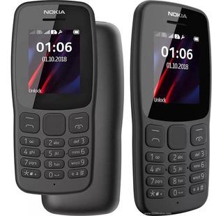 Celular Nokia 106 Dual Chip Rádio Lanterna Original Lacrado