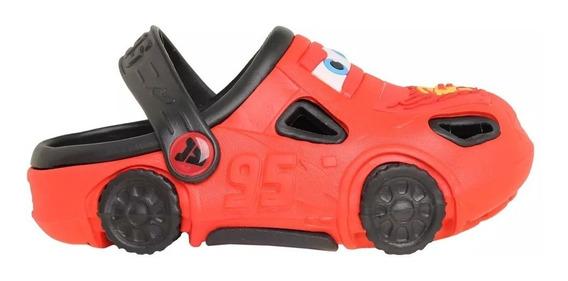 Sandalias Niños Addnice Cars Rojo
