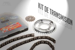 Kit De Transmision Pag P/ Honda Cg 125 Zanella Rx 150 Yuhmak