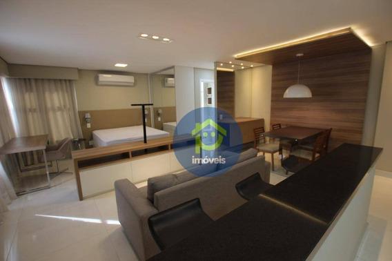 Apartamento Mobiliado De 1 Dormitório Para Locação Em São José Do Rio Preto, Próximo Ao Hospital De Base E Faculdades De Medicina. - Ap6766