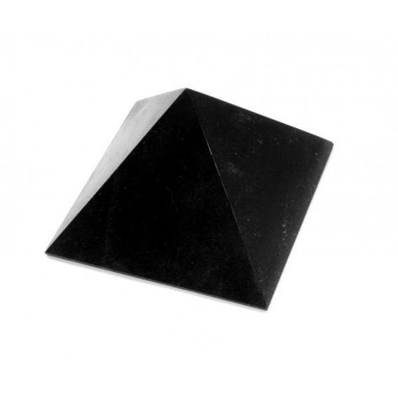 Shungite Pirámide De Shunguita 5 Cm Sanación Protección