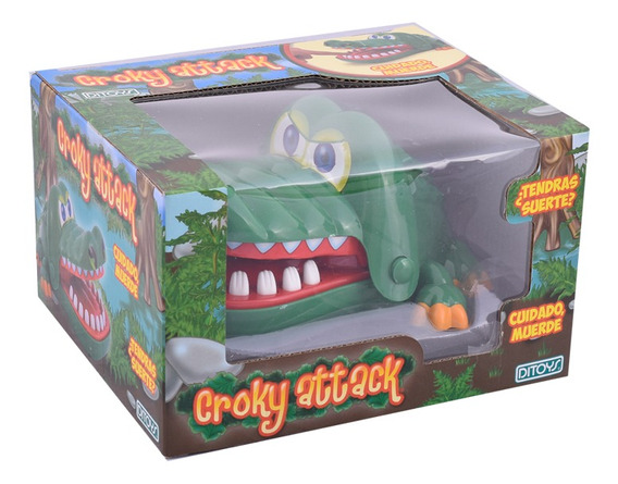 Juego Crocky Attack Game Cocodrilo Muerde Original Ditoys