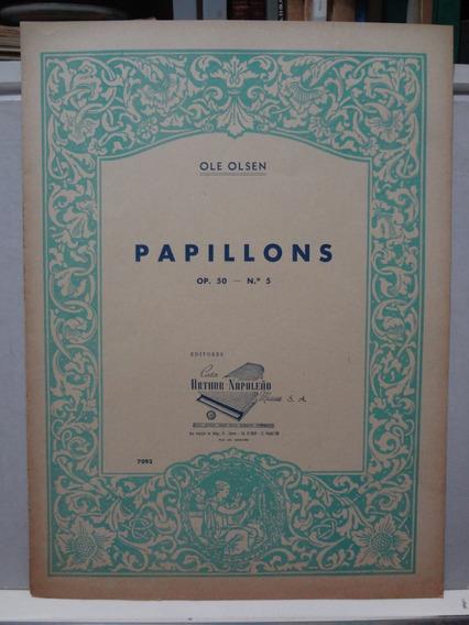 Partitura Piano Papillons Op. 50 Nº 5 Ole Olsen