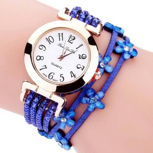 Reloj Para Dama Cuarzo Analógico 8 Colores + Envío Gratis
