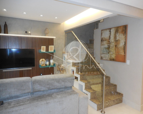 Casa A Venda Em Condomínio Fechado Parque São Quirino. Imobiliária Em Campinas - Ca00505 - 32269111