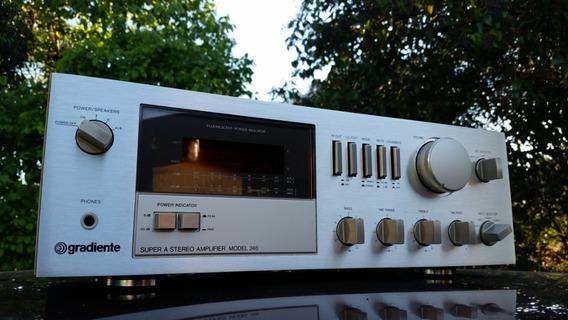 Amplificador Gradiente Model 246 Impecável