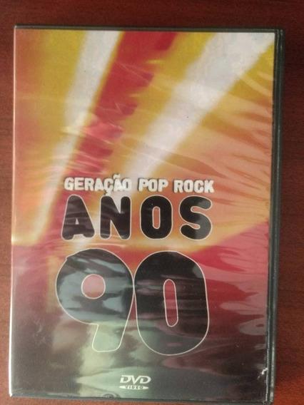 Dvd Geração Pop Rock Anos 90 Novo -