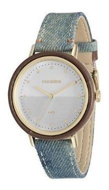 Relógio Mondaine Feminino Pulseira Jeans - 89006lpmvdh1