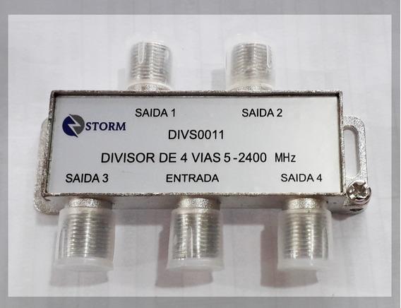 Divisor Alta Frequência 4 Saidas - Para Parabolica