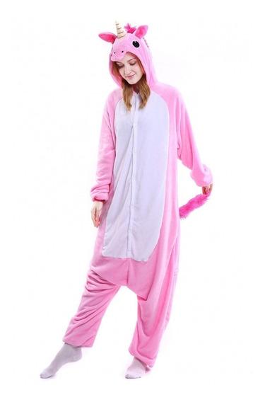 Pijama Kigurumi Unicornio Rosa