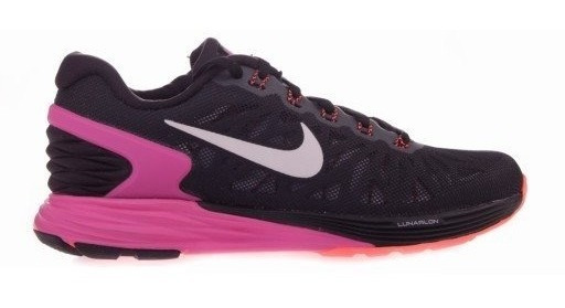 Tênis Feminino De Corrida Nike Lunarglide 6 Preto Original