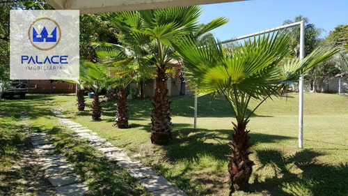 Chácara Com 2 Dormitórios À Venda, 1090 M² Por R$ 380.000,00 - Chácaras Portal Do Itaqueri - Charqueada/sp - Ch0068