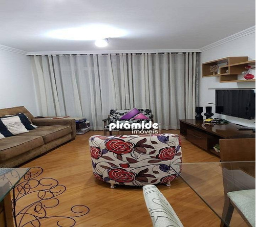 Apartamento Com 3 Dormitórios À Venda, 125 M² Por R$ 545.000,00 - Vila Adyana - São José Dos Campos/sp - Ap11681